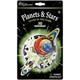 Great Explorations Glow In The Dark Planets & Stars, quantity 30 ~ University Games