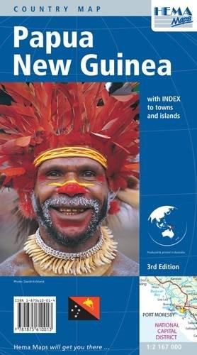 carte-routiere-papouasie-nouvelle-guinee-en-anglais