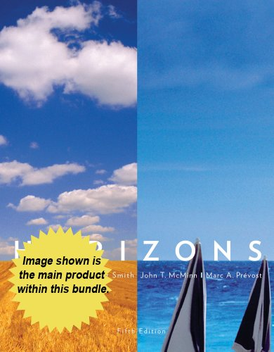Bundle: Cengage Advantage: Horizons, 5th + iLrn(TM) Heinle Learning Center 3-Semester Printed Access Card