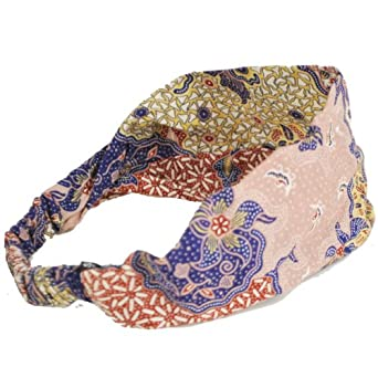 Cotton Headband (Batik) From Silly Yogi