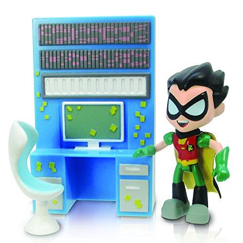 """Teen Titans Go 2.75"""" Robin with Desk - 1"""