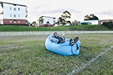 'Cloudeo' - Portable and Inflatable Air Lounger. Designed for Outdoor Hangouts; includes Original Lay Out Drawstring Bag.