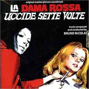 La dama rossa uccide sette volte bruno nicolai - La porta rossa colonna sonora ...