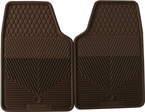 Highland 4402500 All-Weather Tan Front Seat Floor Mat front-853086