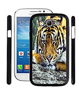 Fuson 2D Printed Tiger Designer Back Case Cover for Samsung galaxy Grand - D660