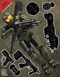 Wall Graphix- Masterchief Guns 23 X 29