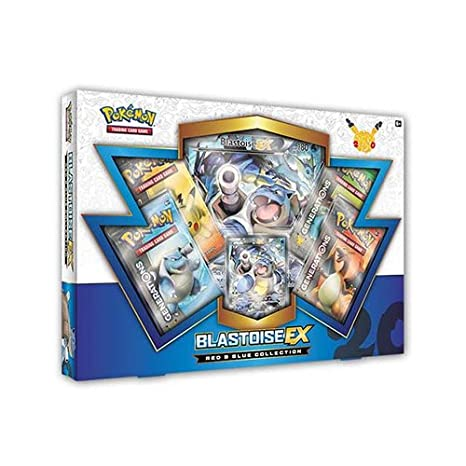 Pokémon TCG Red and Blue Collection: Blastoise EX Box (Tortank) - Version Anglaise