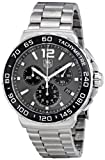 Tag Heuer Formula 1 Chronograph Grey Dial Mens Watch CAU1115.BA0858