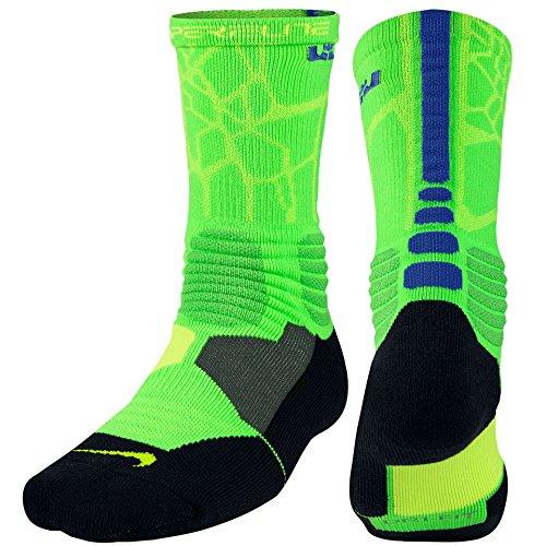efd48096f8cb Nike Mens Hyper Elite Lebron Basketball Crew Socks Large (Size - Import It  All