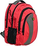 #8: Newera Polyester 40 Ltrs Waterproof Red School Bags