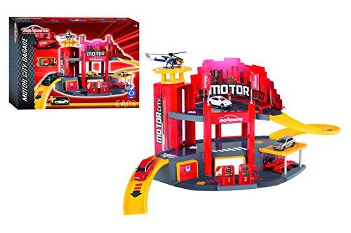 Majorette - 212058211 - Véhicule Miniature - Garage - Motor City