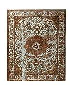 CarpeTrade Alfombra Deluxe Persian Vintage (Marrón/Multicolor)