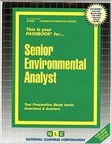 senior environmental analyst national learning