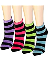 12 Pairs Women's Socks Assorted Colors Size 9-11 Fit Shoe Size 6-9