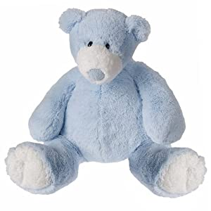 Mary Meyer Big Bear Plush Toy, Blue (Discontinued by Manufacturer)