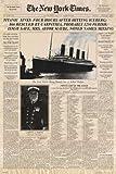Empire 10223 Titanic New York Times Newspaper Film Poster 61 x 91.5 cm