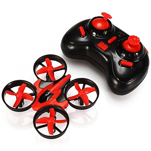 ProAce-RTF-Quadcopter-Mini-UFO-Drone-24G-4CH-6-Axis-Blade-Inductrix-Headless-Mode-Red