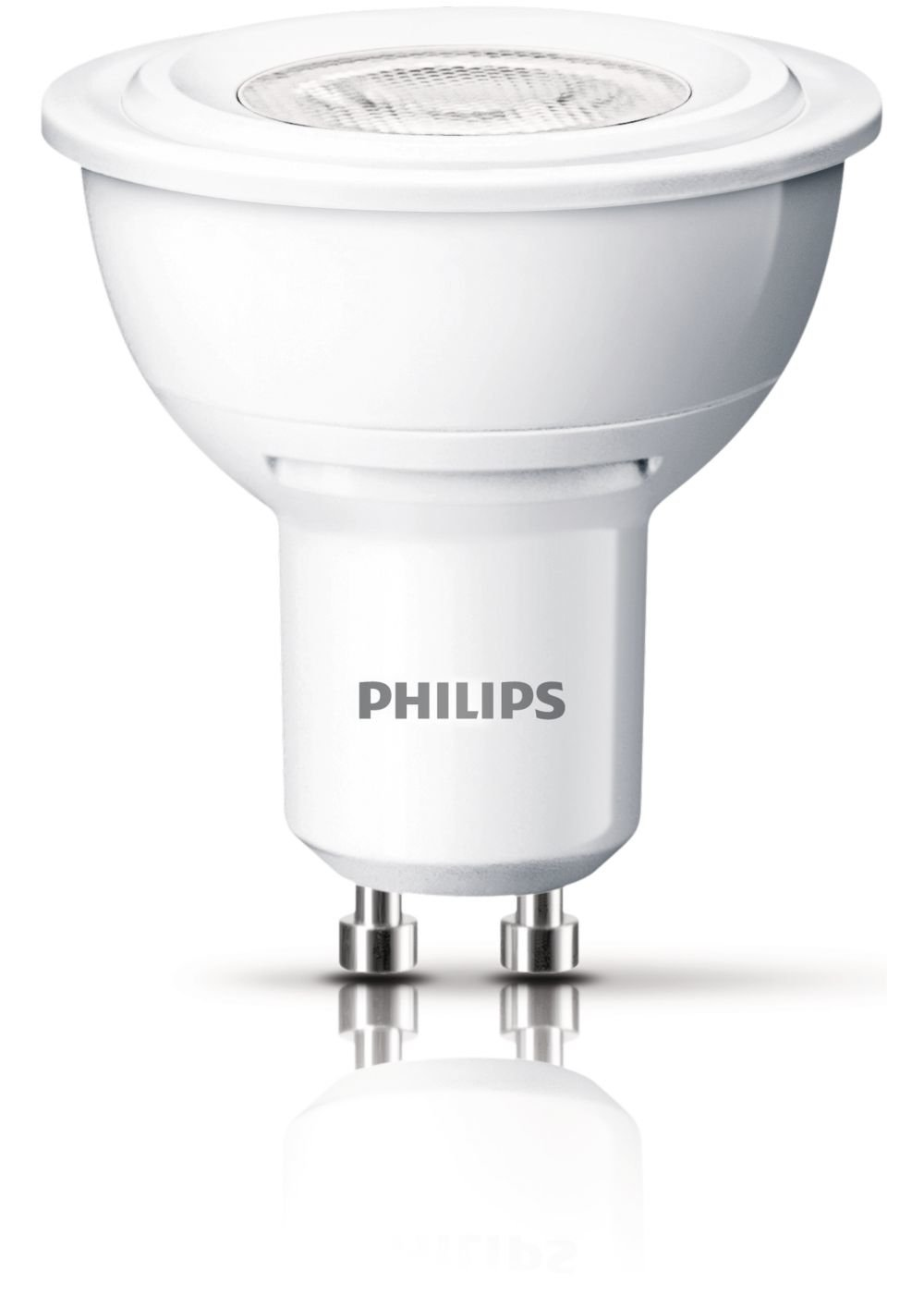 <p>Bombilla de LED con un consumo de 4,5W. Philips &nbsp;color blanco c&aacute;lido</p>