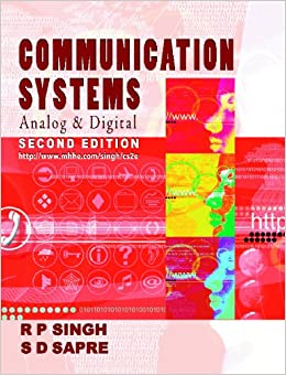 Communication Systems, 2e: Analog and Digital available at Amazon for Rs.3646