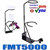 Spray Gun Holder Gravity Feed and & Filter Cradle Bench Mounted FMT5000 Metal Stand