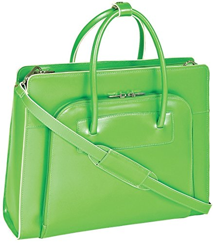 mcklein-usa-lake-forest-w-series-ladies-briefcase-w-removable-sleeve-in-green