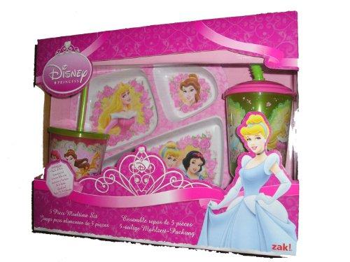 Disney Princess 5 Piece Mealtime Set - 1