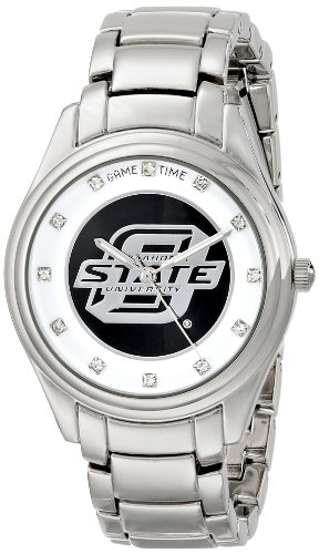 """Game Time Women'S Col-Wcd-Oks """"Wild Card"""" Watch - Oklahoma State front-586825"""