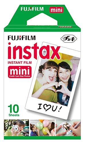 Best Price! Fujifilm Instax Mini Single Pack 10 Sheets Instant Film for Fuji Instant Cameras