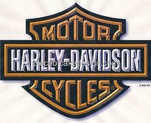 Edible Cake Images Harley Davidson : 1/8 Sheet ~ Harley Davidson Logo Birthday ~ Edible Image ...