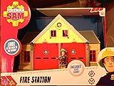 Fireman Sam - Fire Station - Includes Elvis figure, Working Fireman's Pole, Opening doors