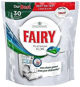 Fairy Platinum Original Dishwash Tablets 30 Washes - (Pack of 2)