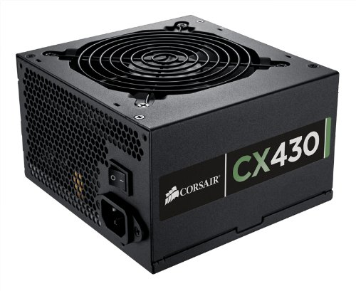 Learn More About Corsair Builder Series CX 430 Watt ATX/EPS 80 PLUS certified Power Suppy