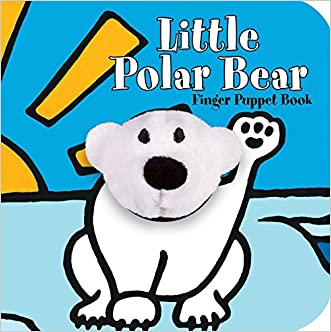 Little Polar Bear: Finger Puppet Book (Little Finger Puppet Board Books)