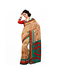 Ashika Printed New Indian Designer Art Silk Sari And Saree (2325)