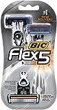BIC Flex 5 Disposable Razor, Men, 3-Count