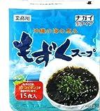 ナガイ 沖縄の海の恵み もずくスープ 35g 15食入×2パック 生タイプ 業務用