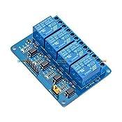 Kitsguru.Com Four Channel 4 Ch 12V Uln2003 Relay Board Module For Arduino Avr Arduino Raspberry Pi And Other Mcu: Amazon.in: Amazon.in