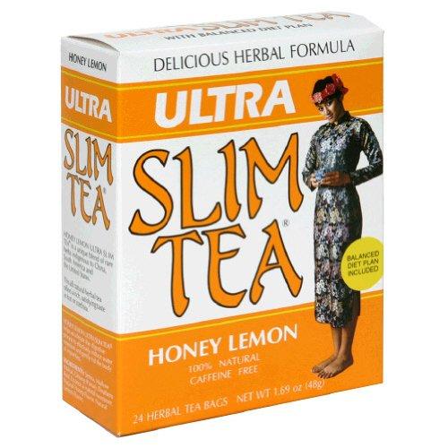 Ultra Slim Tea Honey Lemon - 24 bags,(Hobe Laboratories)
