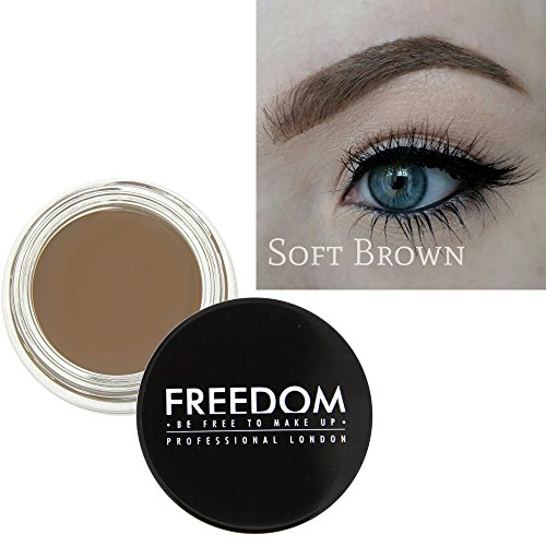 freedom makeup eyebrow augenbraue pomade soft brown. Black Bedroom Furniture Sets. Home Design Ideas