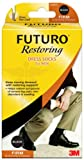 Futuro Restoring Dress Socks for Men,Black, Large, Firm Compression