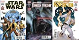 img - for STAR WARS #1, DARTH VADER #1, & PRINCESS LEIA #1 SET - Set of 3 New Marvel Star Wars Comics!! book / textbook / text book
