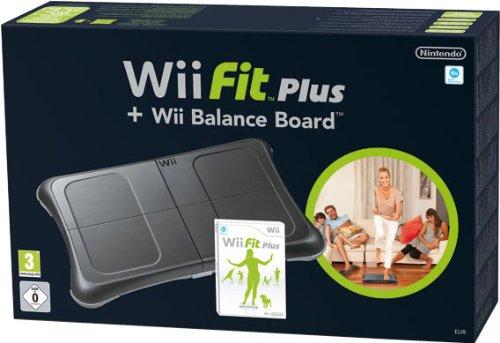 Nintendo Wii - Wii Fit Plus + Balance Board,