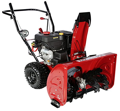 Best Electric Start Snow Blower : Video review inch cc two stage electric start gas