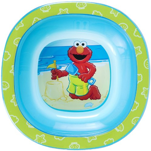 Munchkin Sesame Street Toddler Bowl, 3 Pack - 1
