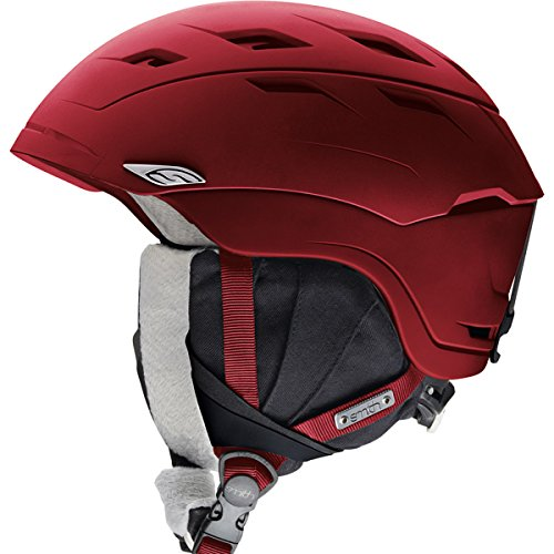 Smith Optics Sequel Adult Ski Snowmobile Helmet , Merlot , Medium