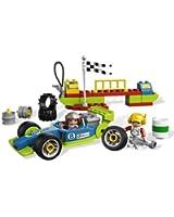 Lego Duplo Legoville - 6143 - Jouet de Premier Âge - Le Stand de Course
