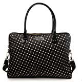 Kate Spade Calista Spot Nylon Black Polka Dots Laptop Handbag