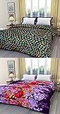 RajasthaniKart Combo Reversible AC Blanket/Quilt/Rajai/Top Sheet/Dohar (Single Bed, Set of 2)