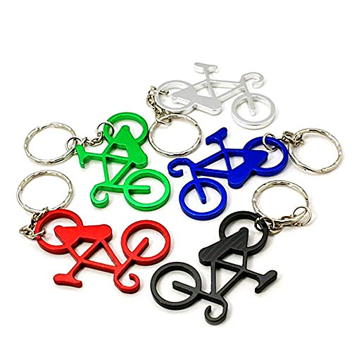 Ieasycan Aluminium outdoor ride 58*33mm bicycle keychain bottle opener key ring opener club souvenir small gift (Bottle Opener Pokemon compare prices)