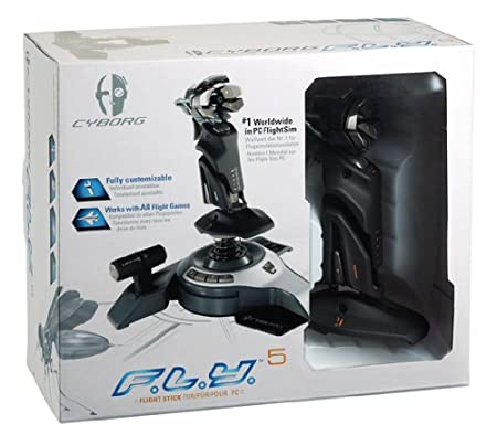 Saitek PS38 Cyborg F.L.Y5 Flight Stick